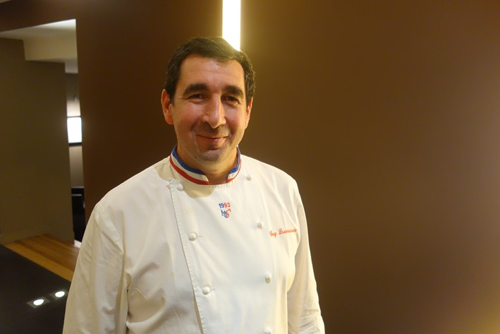 head chef Guy Lassausaie in 2014