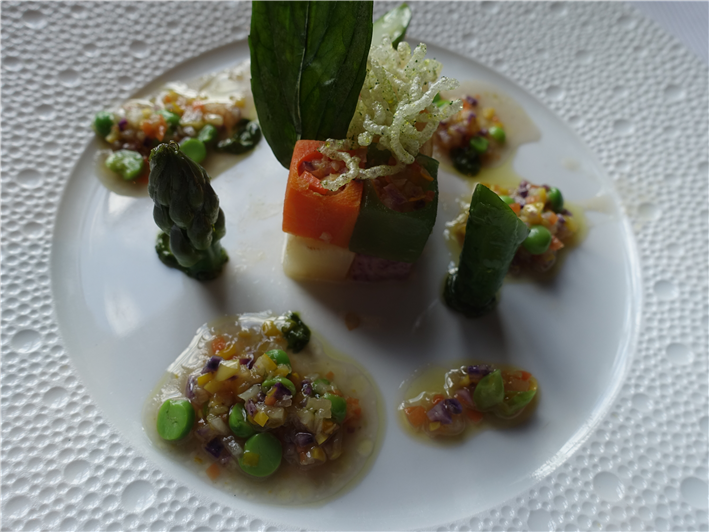 vegetable course