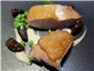 Geline de Touraine chicken with peas and morels