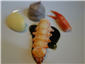 langoustine tail and claw