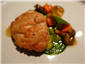 sweetbread and carrots