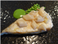 turbot and razor clams