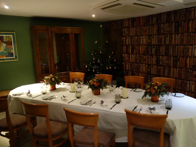 private dining room December 2012