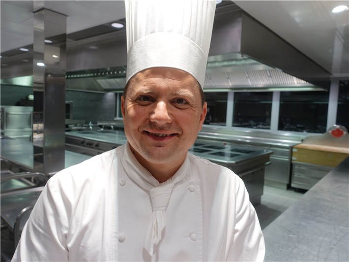 head chef Franck Giovannini