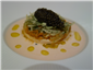 sea urchin and caviar