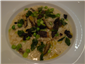 morel and pea risotto