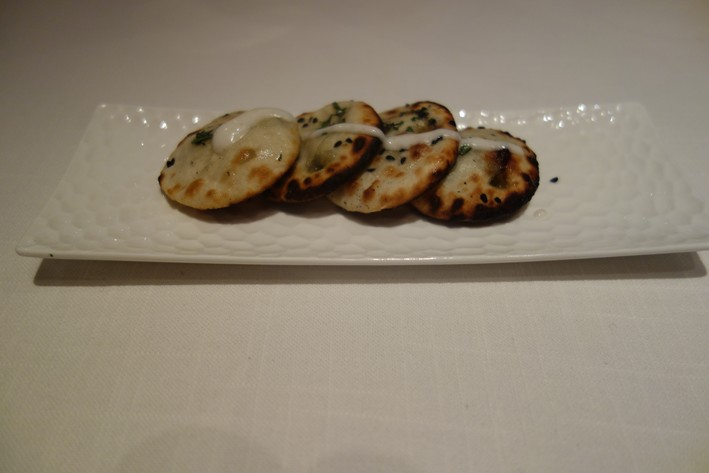 blue cheese naan