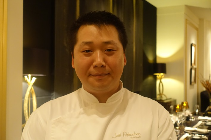 head chef Kim Joinié-Maurin