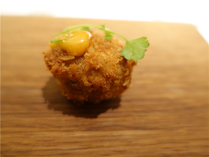pork croquette nibble