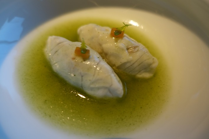 sea bream dumplings
