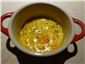 classic version of saffron risotto