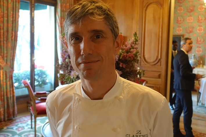 head chef Christophe Pele