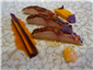 red mullet with clementine mustard