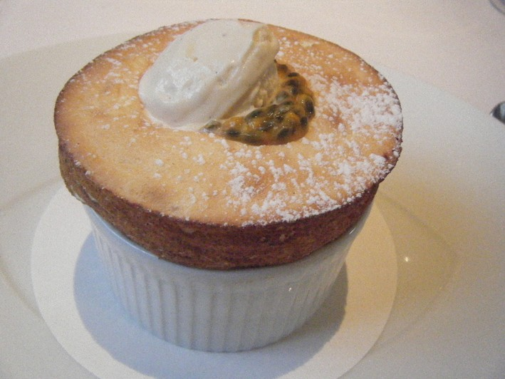 passion fruit souffle better