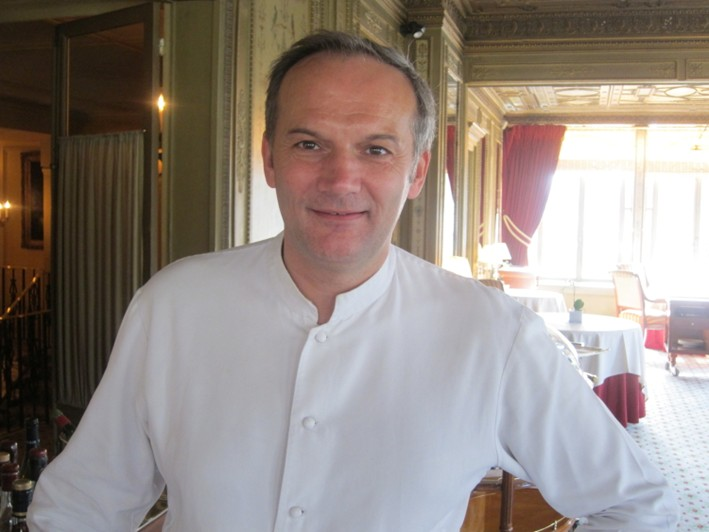 chef Christian LeSquer