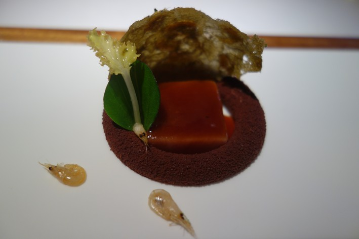 tuna and foie gras