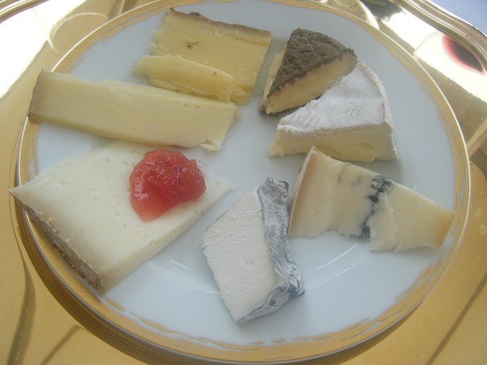 cheese served