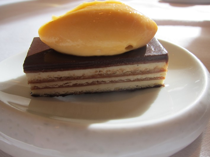 chocolate millefeuille