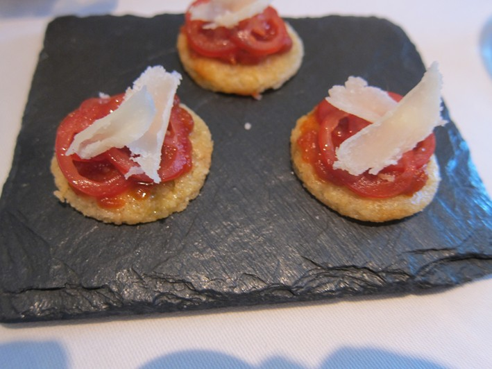 parmesan and pottao nibbles