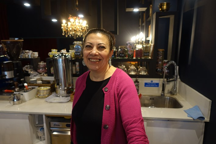 chef owner Maryam Sinaiee