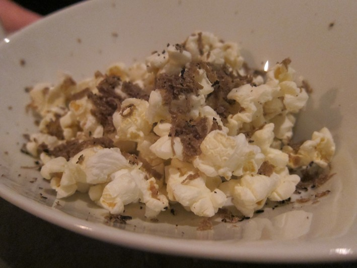 popcorn with truffle