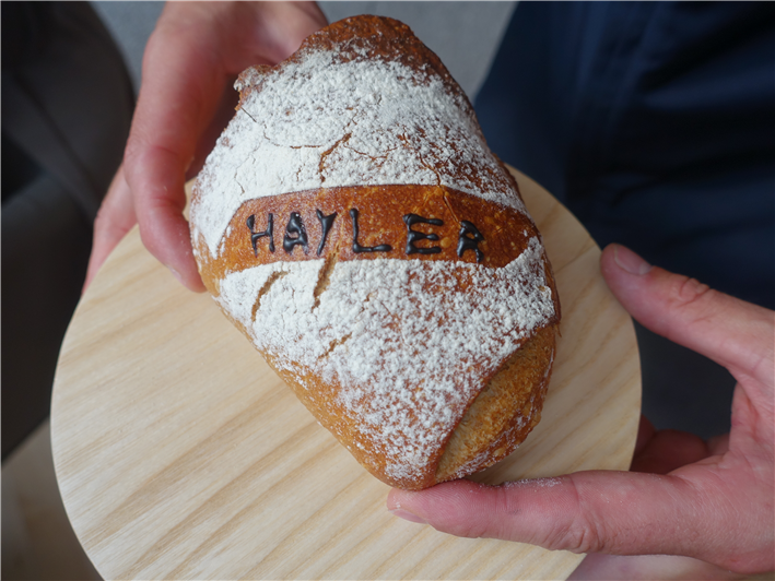 personalised bread