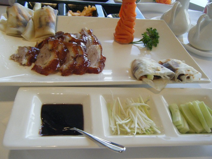 peking duck served