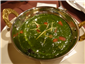 saag (spinach)