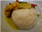 prawn green curry