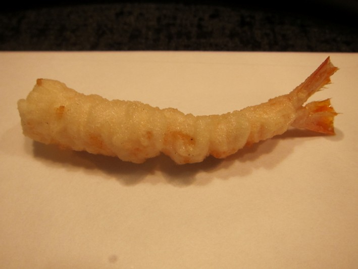 further prawn tempura