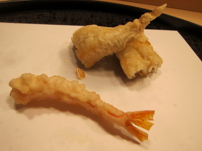 icefish and prawn