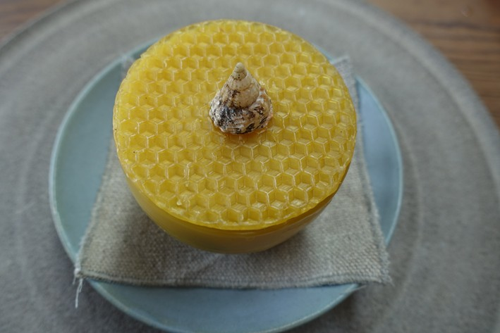 beeswax container