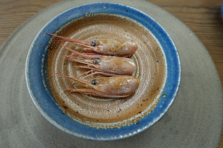 prawn container