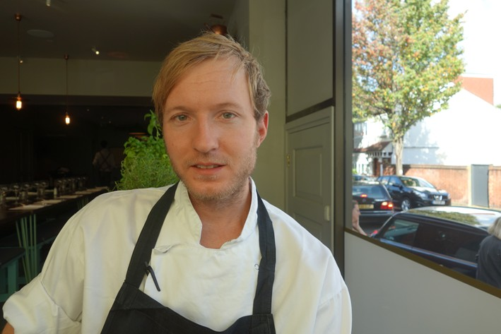 head chef Andreas Engberg