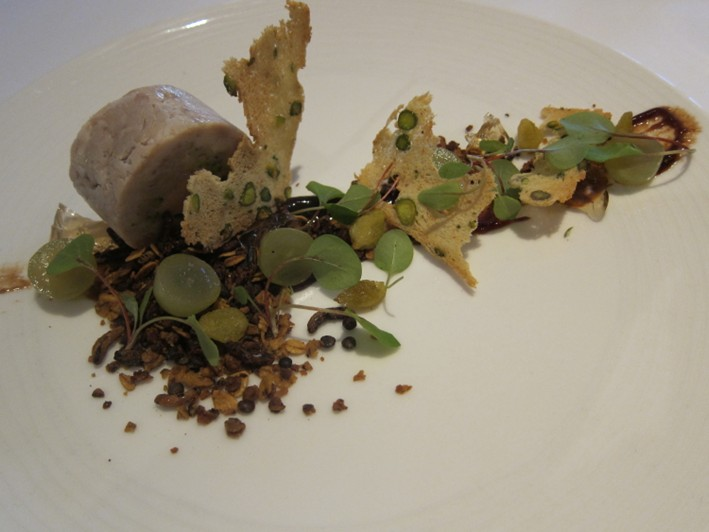 rabbit and foie gras terrine