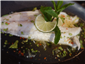 sea bass with lime and chilli