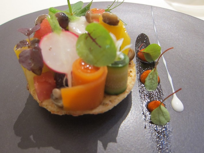 vegetable tartlet