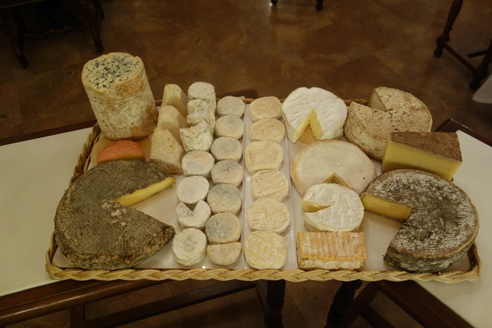 part of the cheese board