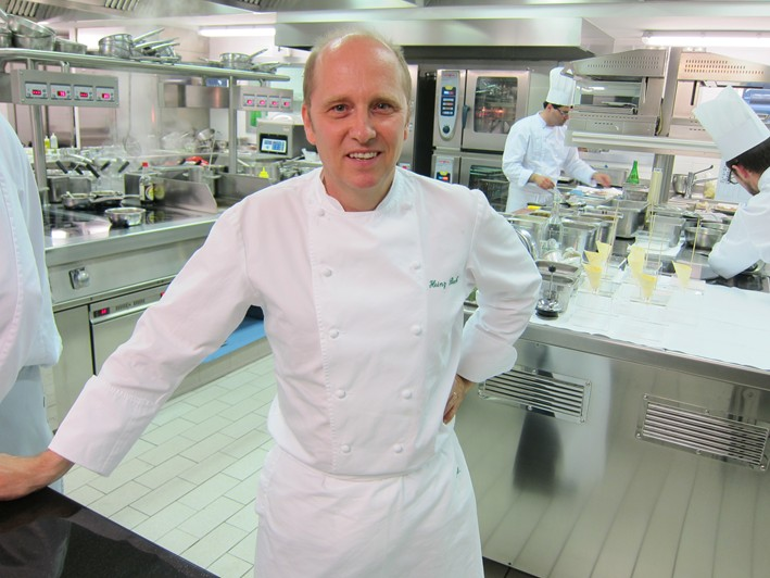 heinz beck in kitchen