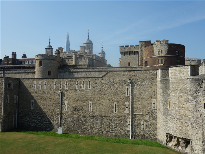 The Tower of London next door