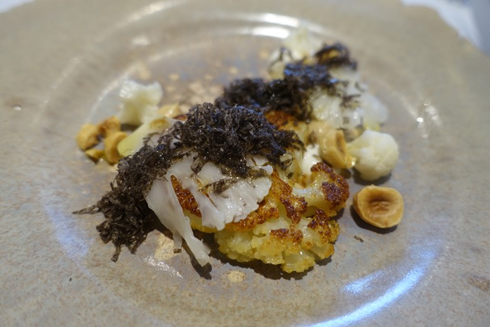 cauliflower with truffle
