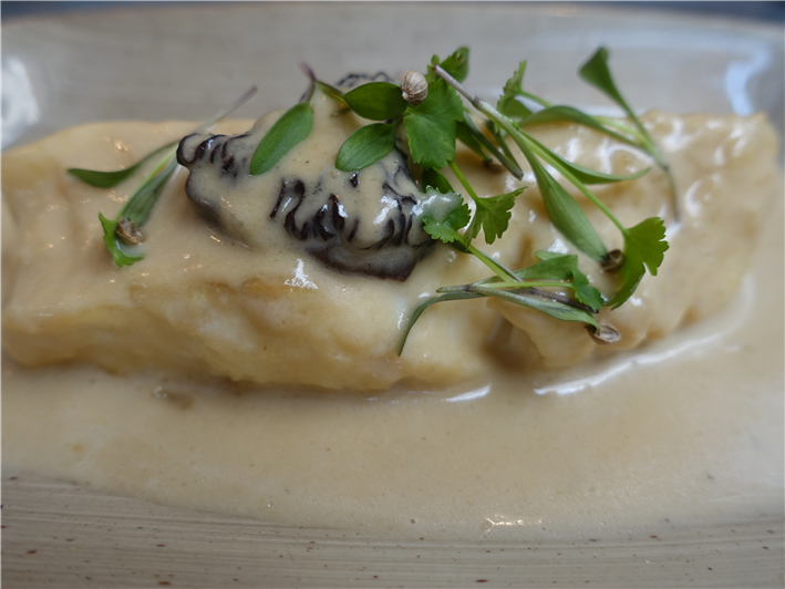 velveted turbot