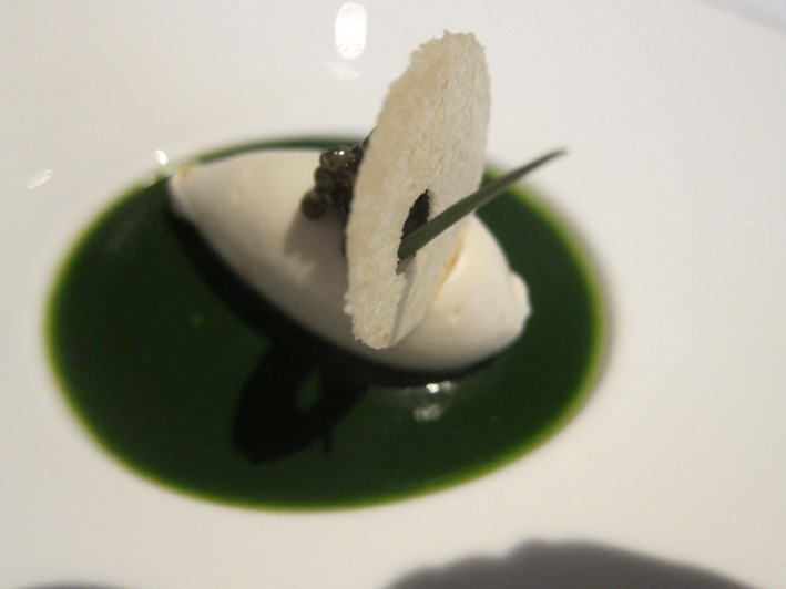 spinach mousse