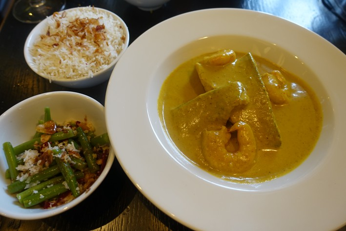 curry and accompaniments
