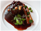 beef tournedos with Bordelaise sauce