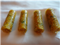 coronation chicken in sugar tuiles