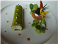 crab and cucumber