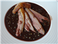 duck with peppercorn sauce