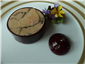 ballotine of foie gras with damson