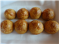 gougeres stuffed with truffle